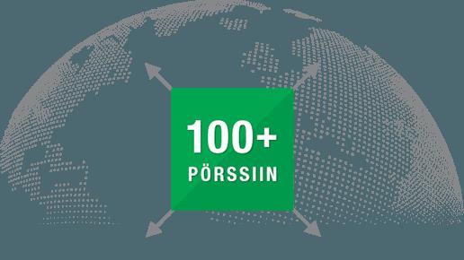 100+ porssiin