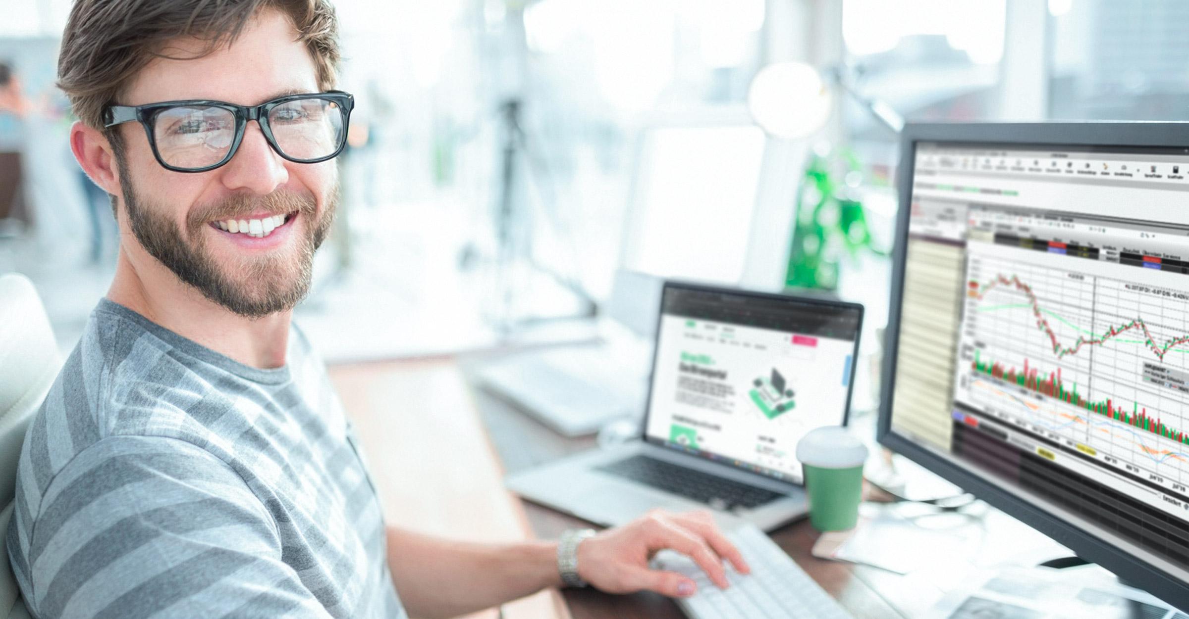 Avaa arvo-osuustili ja sijoita ammattilaisten suosimalla TWS-kaupankäyntialustalla